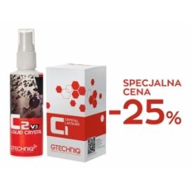 gtechniq zestaw promocyjny c1 30 ml + c2v3 100 ml : -25%
